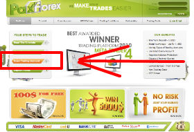 paxforex open account